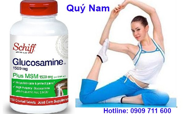 Thực phẩm chức năng Schiff glucosamine plus msm 1500mg được đánh giá cao tại Mỹ