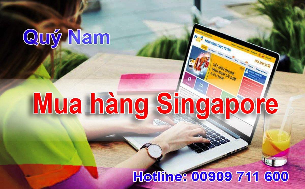 Dịch vụ mua hàng hộ từ Singapore tại Quý Nam