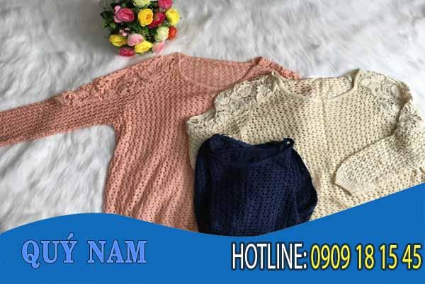 Nguồn hàng áo len Quảng Châu