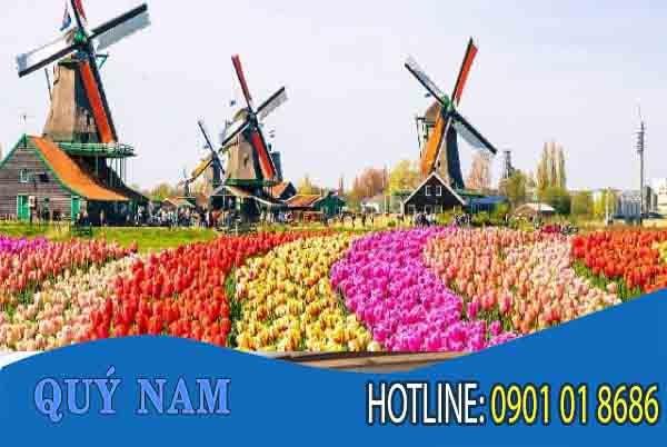 cước phí gửi hàng đi Hà Lan