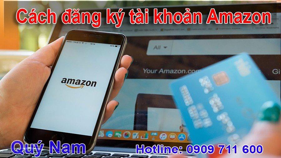 Cách đăng ký tài hkoản Amazon
