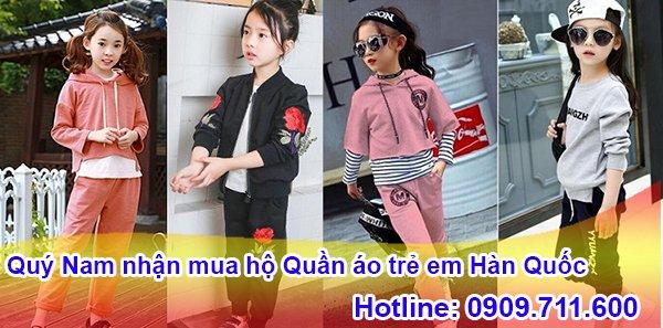 Mua hộ quần áo trẻ em Hàn Quốc