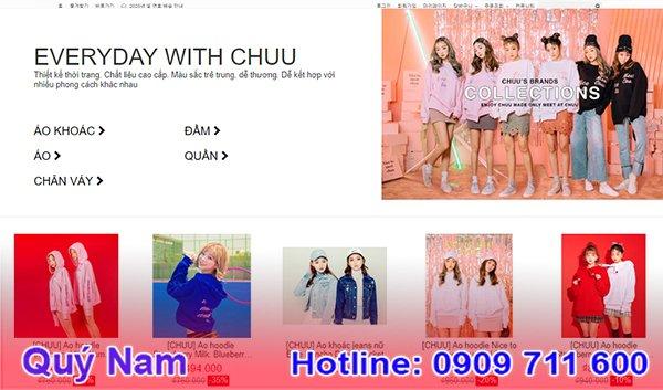 Nguồn hàng quần áo Hàn Quốc