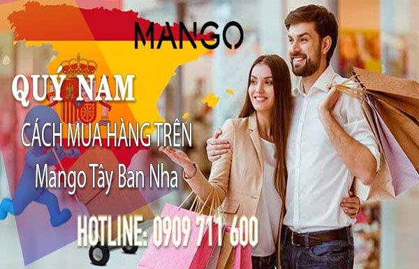 Order hàng Mango Tây Ban Nha