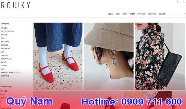 Quần áo Hàn Quốc giá sỉ