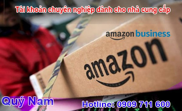 Tài khoản Amazon chuyên nghiệp