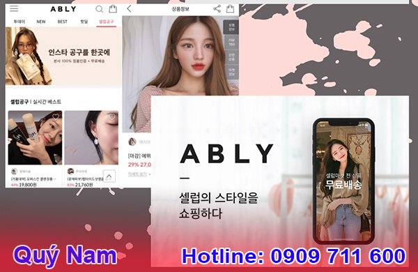 Trang bán quần áo Hàn Quốc