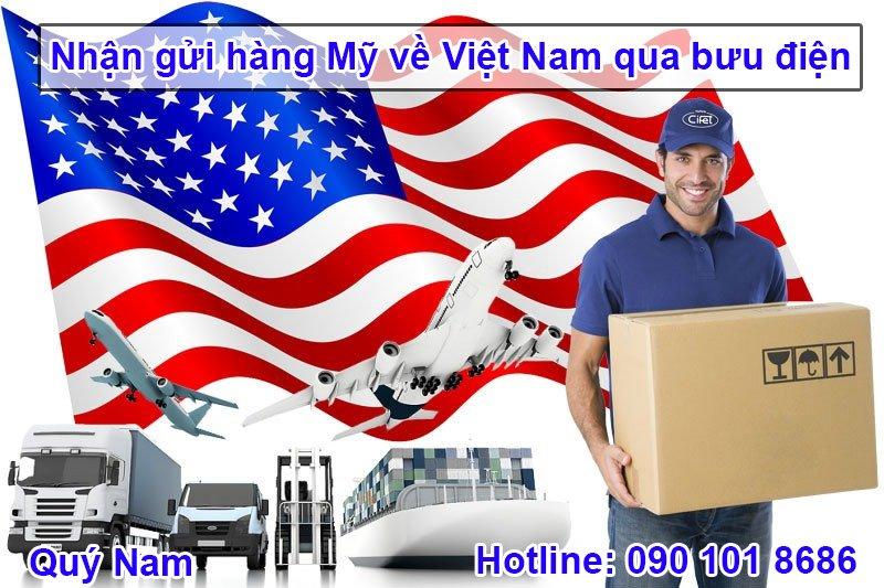 Quý Nam nhận gửi hàng từ Mỹ về Việt Nam an toàn, nhanh chóng