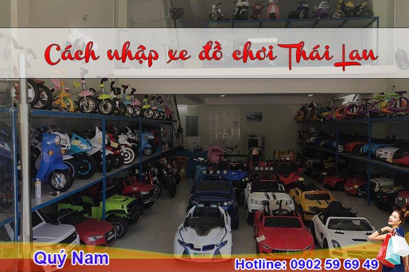 Đơn vị vận chuyển đồ chơi xe Thái Lan hàng đầu tại Việt Nam