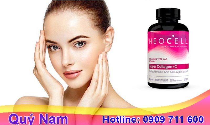 Collagen C của Mỹ không chỉ có tác dụng tuyệt vời với da