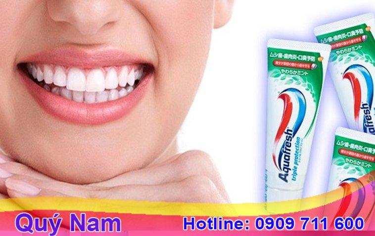 Aquafresh là một trong những loại kem đánh răng nhiều người đánh giá rất tốt
