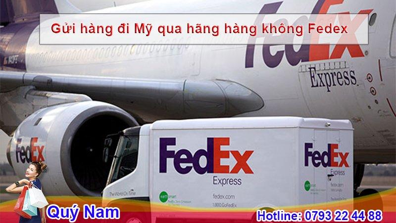 Gửi hàng đi Mỹ FedEx là sự lựa chọn hàng đầu của người tiêu dùng thế giới