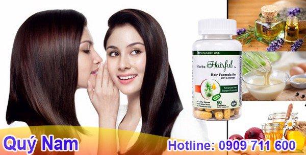 Herba hairful là dòng sản phẩm thuốc mọc tóc của Mỹ được ưa chuộng hàng đầu