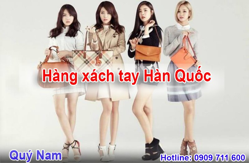Nếu không có người thân, bạn bè bên Hàn Quốc bạn vẫn có thể mua hàng xách tay trên trang bán hàng trực tuyến