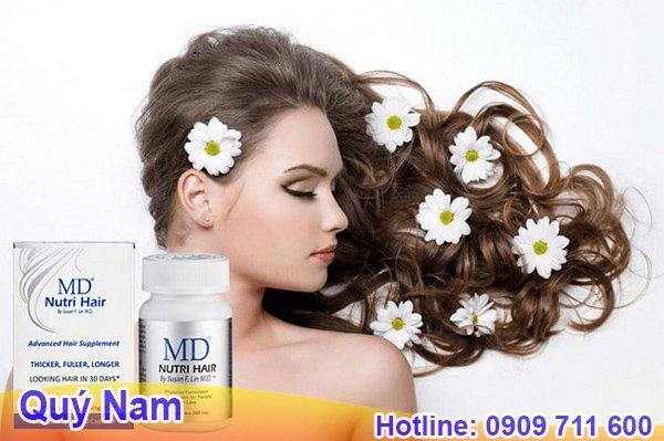 Phục hồi tóc hư tổn chuyên sâu cùng MD Nutri Hair