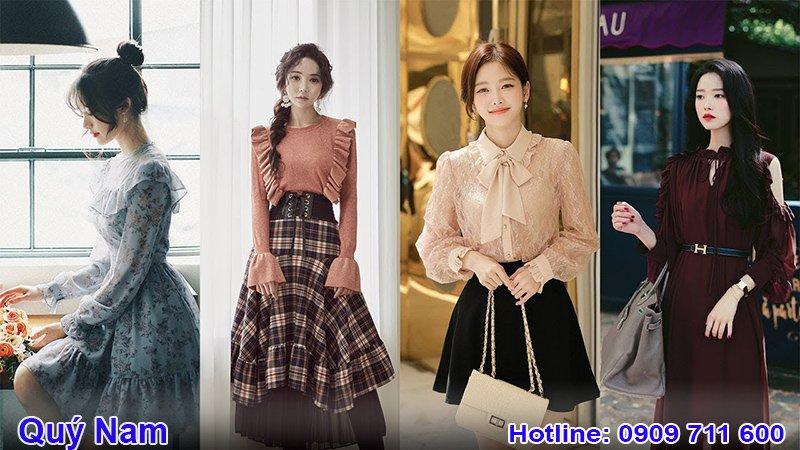 Bộ sưu tập quần áo nữ thời trang Hàn Quốc