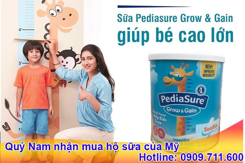Pediasure Grow & Gain là nhãn hiệu sữa nổi tiếng tại Hoa Kỳ