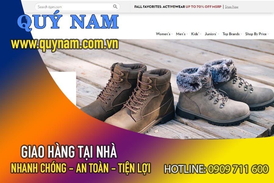Trang web bán giày Mỹ 6pm