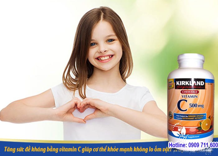 Kirkland là sự lựa chọn số 1 cho dòng Vitamin C của Mỹ