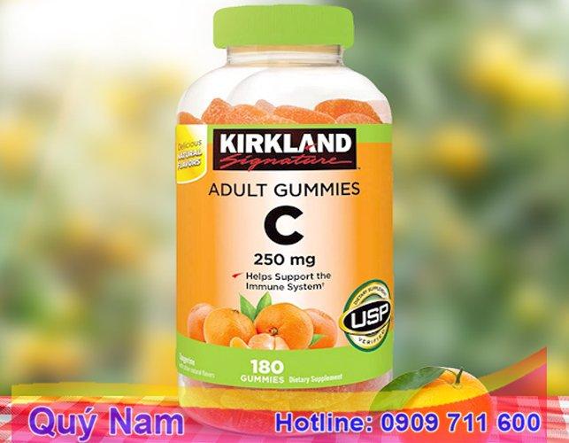 Vitamin C của Mỹ Kirkland Adult Gummies hộp 180 viên