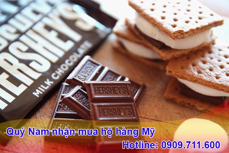 Hershey's là thương hiệu chocolate Mỹ nổi tiếng với nhiều sản phẩm độc đáo