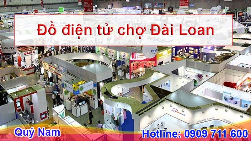 Bạn có thể mua đồ điện tử Đài Loan ở các khu chợ của quốc gia này
