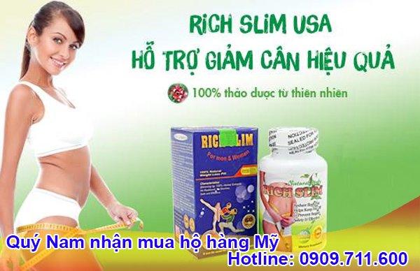 Rich Slim - thực phẩm giảm cân an toàn dành cho cả nam lẫn nữ