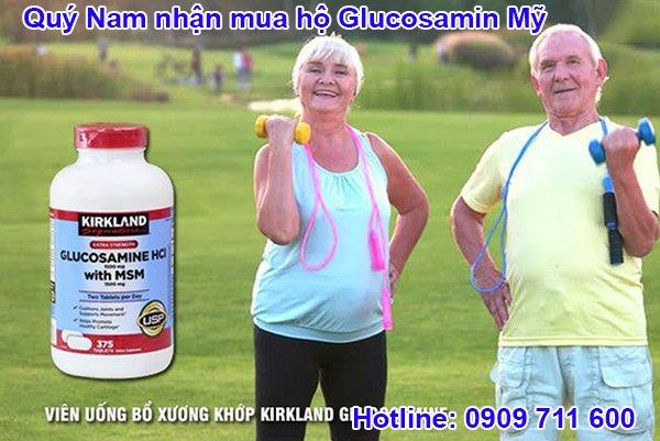 Glucosamine HCL 1500mg - dòng Glucosamine Mỹ phổ biến nhất tại Việt Nam