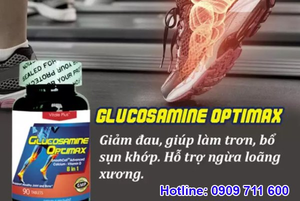Glucosamine Mỹ Optimax