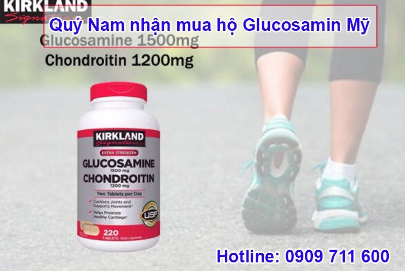 Dòng sản phẩm Glucosamine Mỹ được ưa chuộng trên thị trường