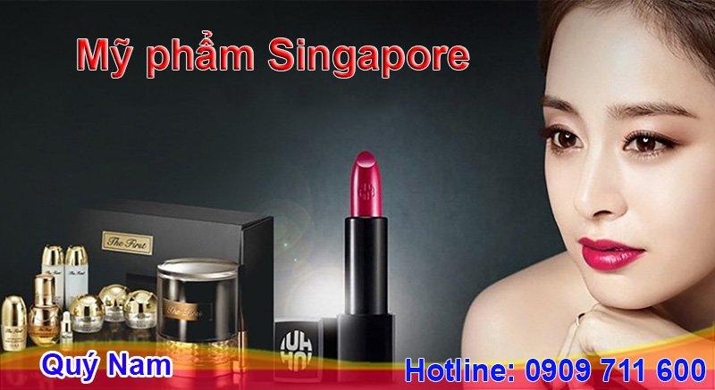 Các sản phẩm phục vụ cho việc trang điểm từ Singapore luôn được nhiều chị em săn lùng