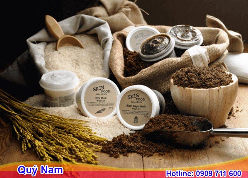 SkinFood là đem đến sản phẩm chứa hàm lượng lớn dinh dưỡng từ thực phẩm
