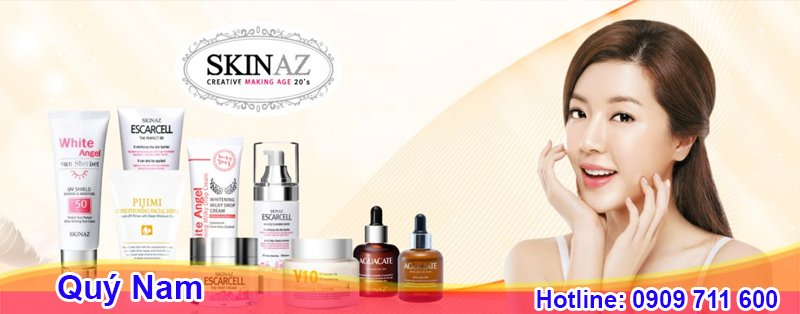 Mỹ phẩm Skinaz được kiểm định và đạt tiêu chuẩn an toàn quốc tế