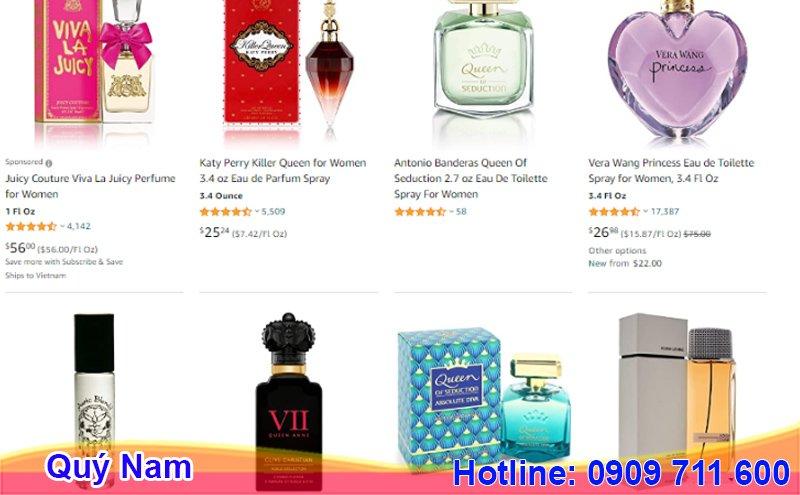 Hãy tự order nước hoa Queen Perfume chính hãng của Pháp qua dịch vụ của Quý Nam