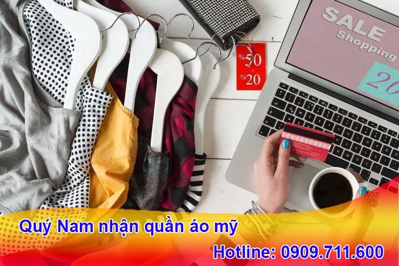 Khách hàng có thể tự mua quần áo Mỹ thông qua các trang web online