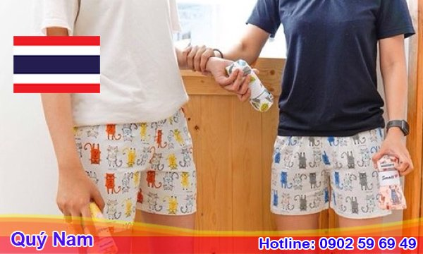 Quần Thái Lan nam cũng là mặt hàng có nhu cầu tiêu thụ lớn hiện nay