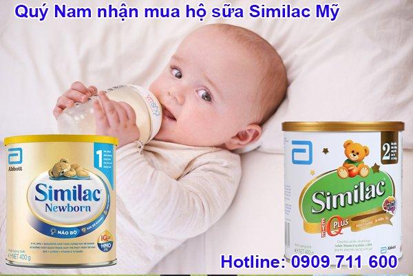 Sữa Similac Mỹ có công thức Abbott vượt trội, giúp trẻ phát triển tối ưu.