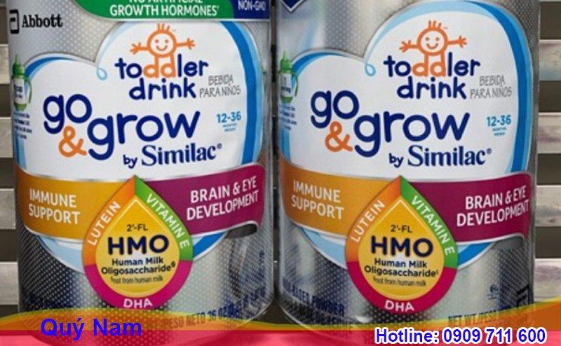Sữa Similac Mỹ Go and Grow Non - GMO
