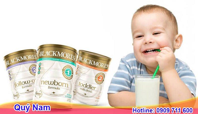 Sữa Blackmores rất dễ uống, mùi vị không khó chịu, có vị mát khiến trẻ thích thú