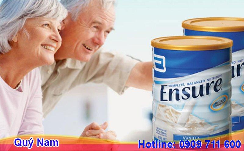 Sữa Ensure 400gr Mỹ dành cho mọi đối tượng trên 4 tuổi