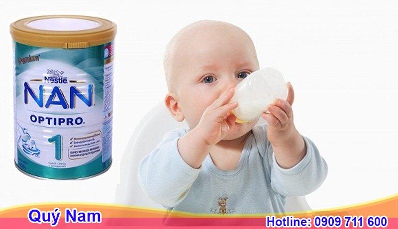 Hình ảnh bao bì sản phẩm sữa NAN Optipro