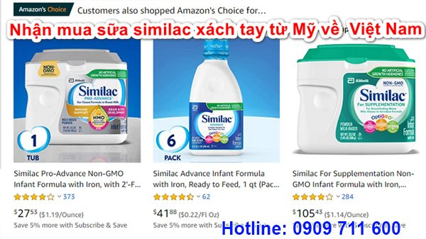 Giá sữa Similac HMO - 2