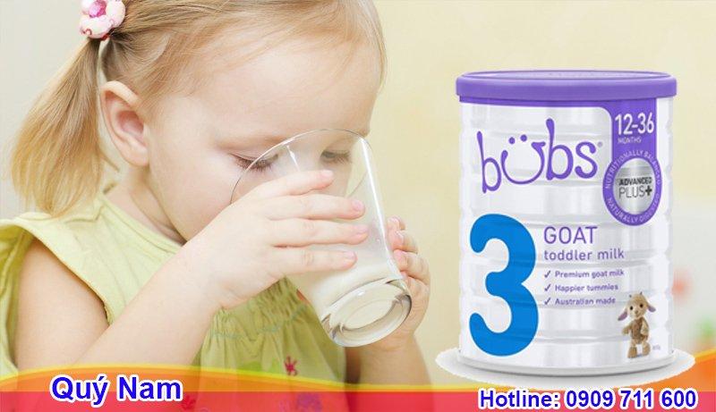 Bubs Australia là dòng sữa Úc nổi tiếng được ưa chuộng trên thế giới
