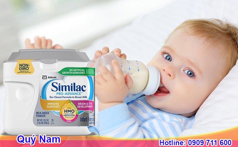 Dòng sản phẩm cho trẻ sơ sinh - Similac Pro Advance Non - GMO and HMO