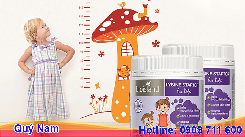 Lysine Step Up for Youth giúp tăng chiều cao được nhiều mẹ tìm mua