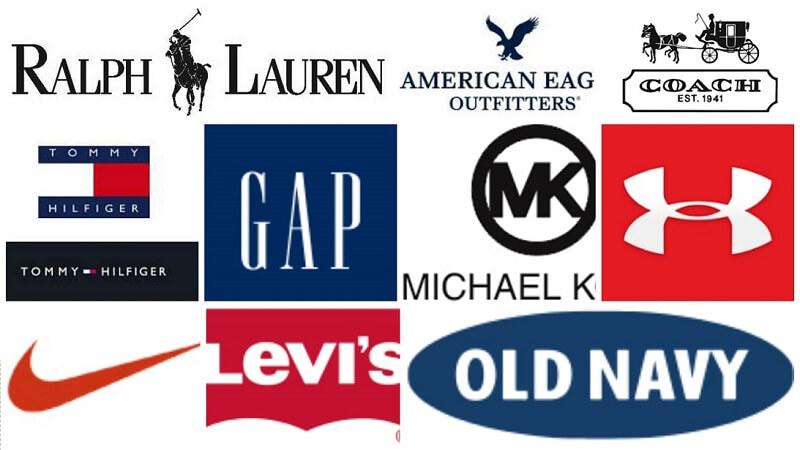 các thương hiệu thời trang mỹ