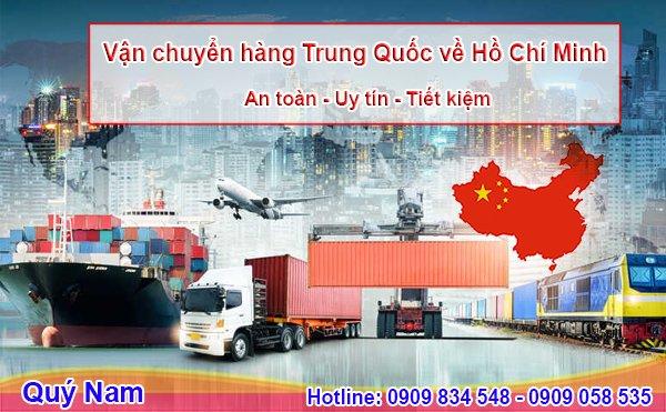 Nhu cầu vận chuyển hàng Trung Quốc về Hồ Chí Minh ngày càng tăng cao