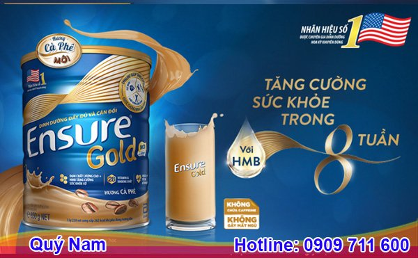 Sữa Ensure Mỹ 850g rất tốt cho sức khỏe