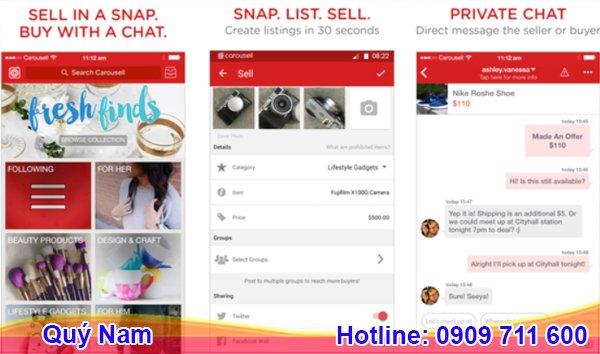 Carousell đang là website thương mại điện tử phổ biến ở Singapore