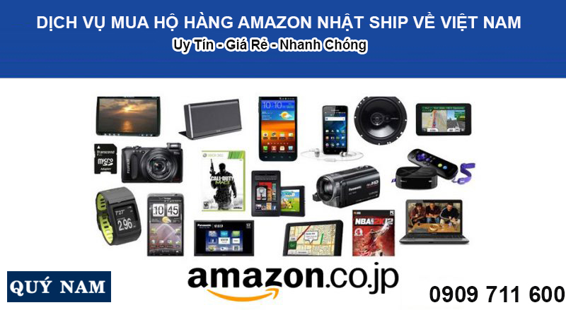 mua hộ hàng Amazon Nhật